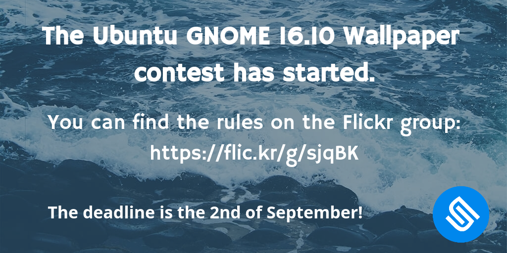 The Ubuntu Gnome 1610 Wallpaper Contest Has Started Guys
